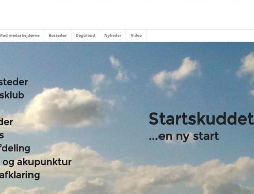 Tovholder på nye hjemmesider til Startskuddet