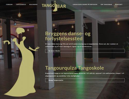 Hjemmeside til Tangobar