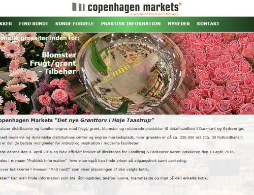 Hjemmeside til Copenhagen Markets