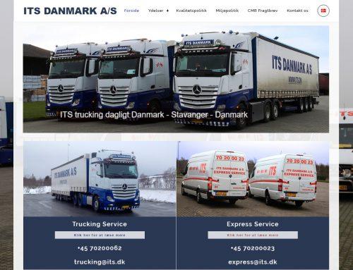 Hjemmeside til ITS DANMARK A/S